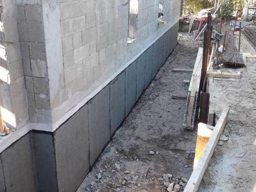 Étanchéité de murs enterrés dans un projet de construction